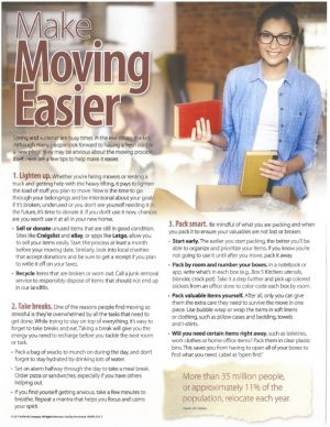 Make Moving Easier