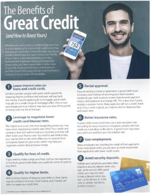 The Benefits of Great Credit - and how to Boost Yours