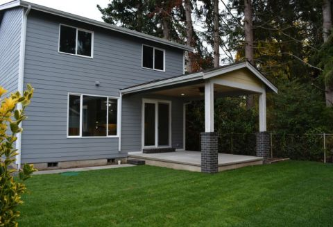 Private & Secluded New Construction Home Downtown Puyallup